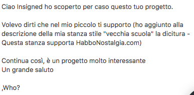 Who contatta HabboNostalgia