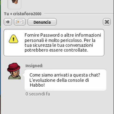 L'evoluzione della chat di Habbo